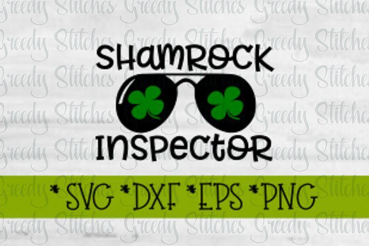 St. Patricks Day | Shamrock Inspector SVg DXF EPS PNG
