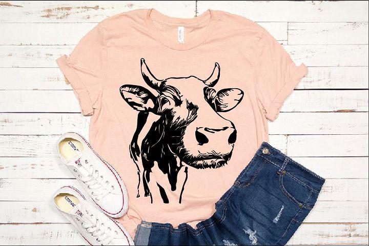 Bull Cow SVG cattle matador cowboy Buffalo Heifer 1285s