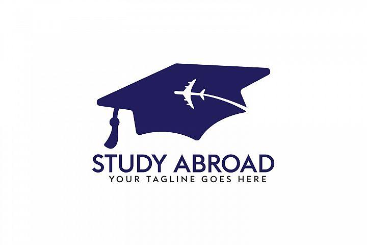 Study Abroad Logo Design.