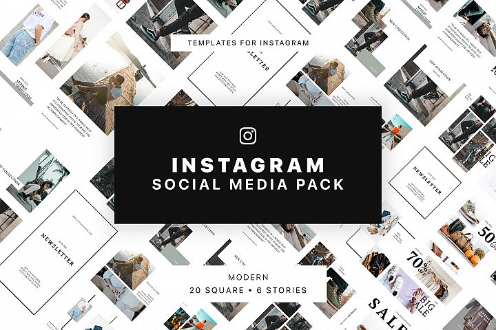 Modern Instagram Social Media Pack