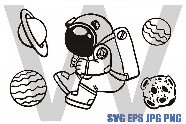 Space Elements set 2 - SVG EPS JPG P