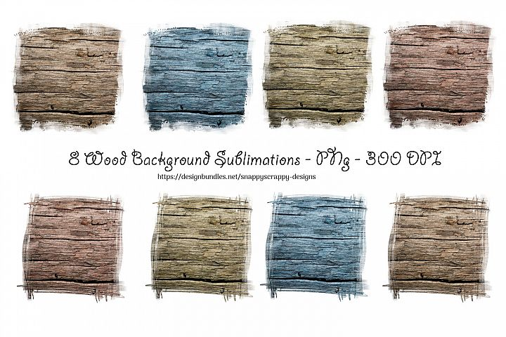 Wood Sublimation Backgrounds