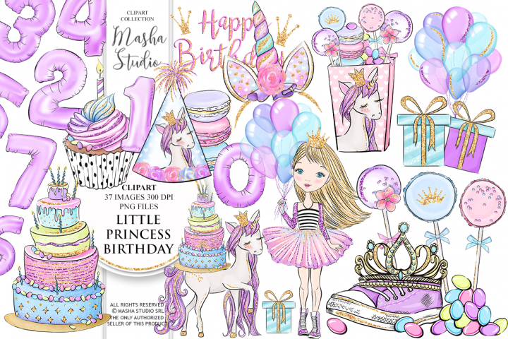 Princess Party clipart