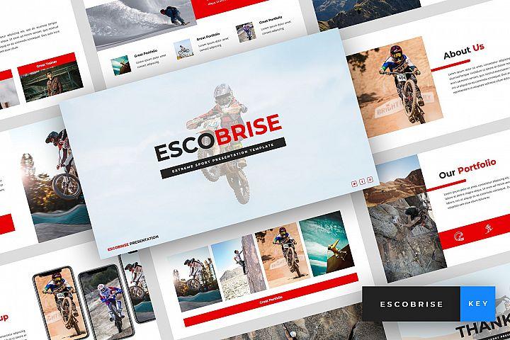 Escobrise - Extreme Sport Keynote Template