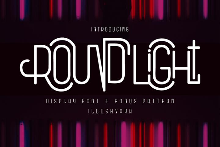 Round Light - Display Font & Extras