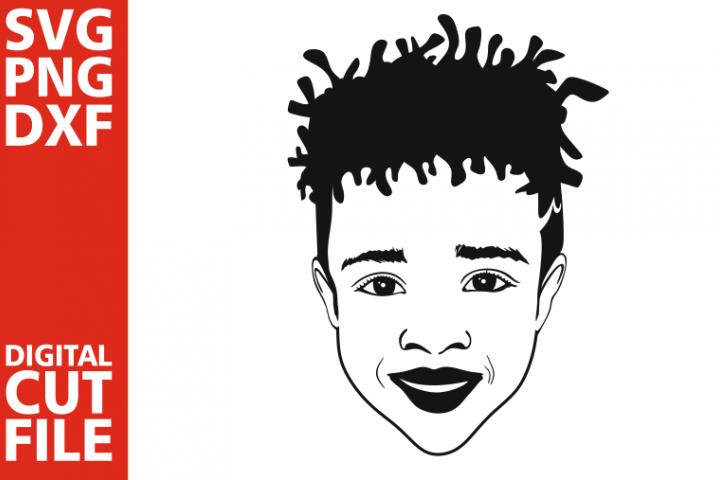 Afro Boy svg, Black man, Afro Kids svg, Natural Hair vector