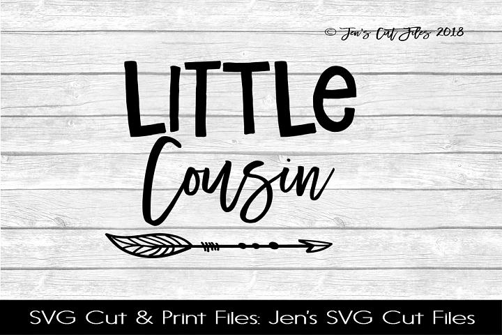 Little Cousin SVG Cut File