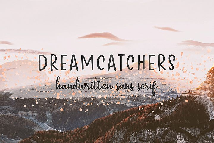 Dreamcatchers | A Playful Sans Serif