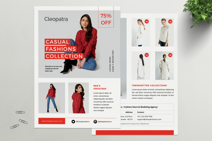 CLEOPATRA - Fashion Flyer