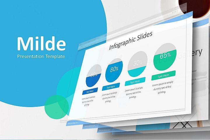 Milde - Multipurpose Keynote Presentation Template