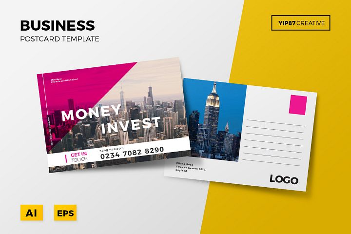 Business Postcard