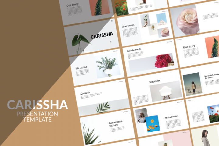 Carissha - Powerpoint Presentation Templates