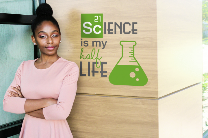 Science is My Half Life SVG File Cutting Template
