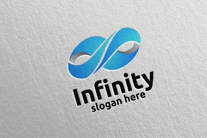 Infinity loop logo Design 2