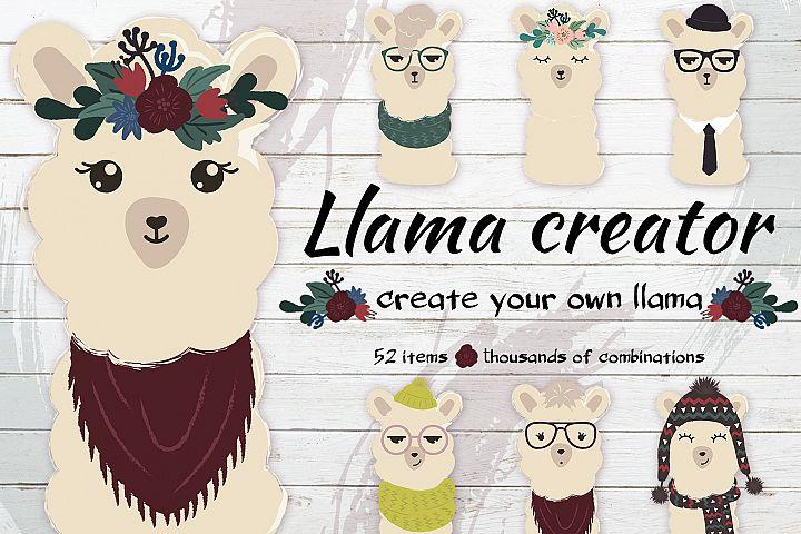 The cute llama creator