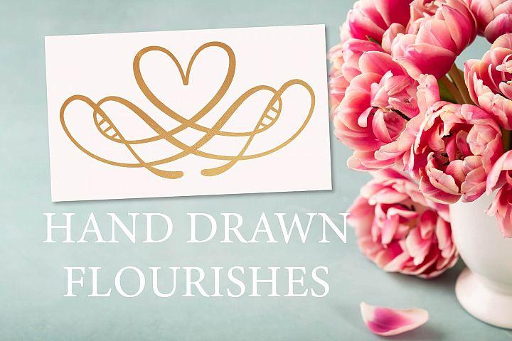 Hand Drawn Flourishes