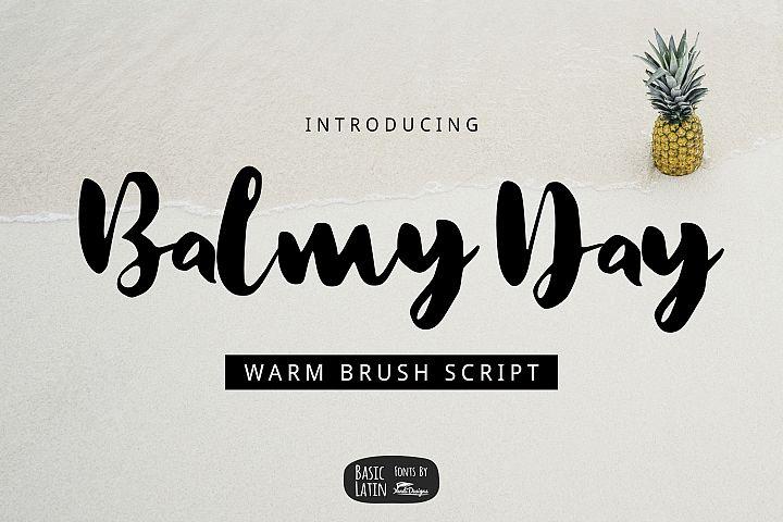 Balmy Day Brush example image 1