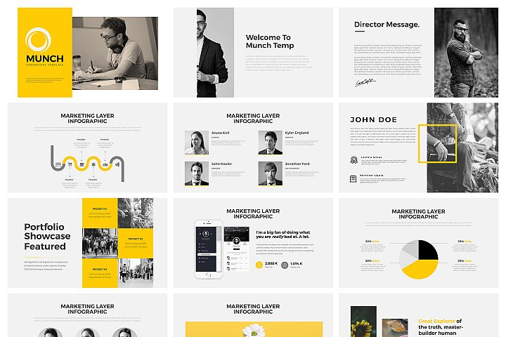 Munch Keynote Template