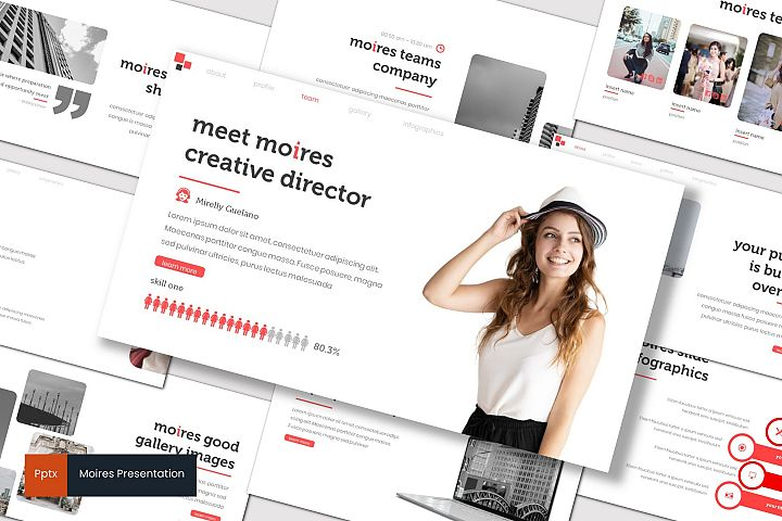 Moires - Powerpoint Template