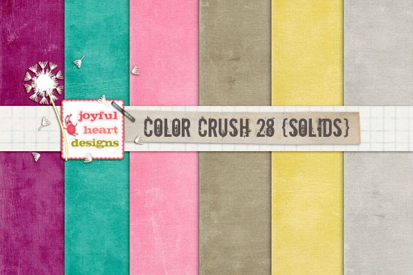 Color Crush 28 {solids}