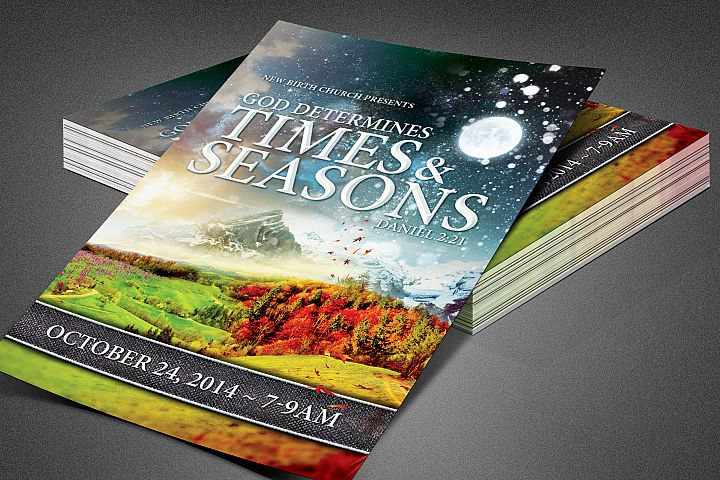 Times and Seasons Church Flyer