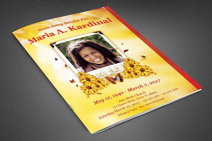 Light of Life Funeral Program
