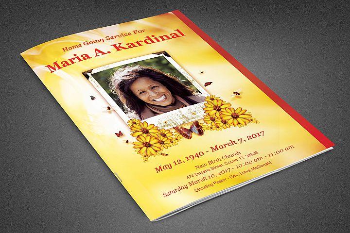 Light of Life Funeral Program