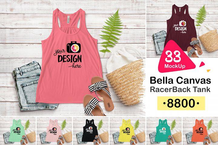 8800 Bella Canvas RacerBack Tank 001