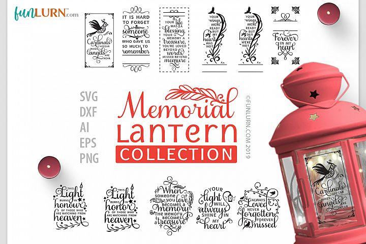Memorial Lantern Collection | SVG Cut File Bundle
