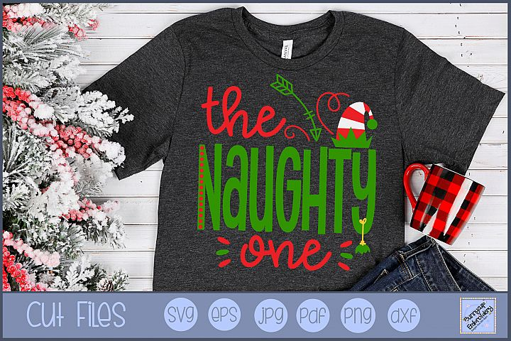 The Naughty One - SVG, Clipart, Printable