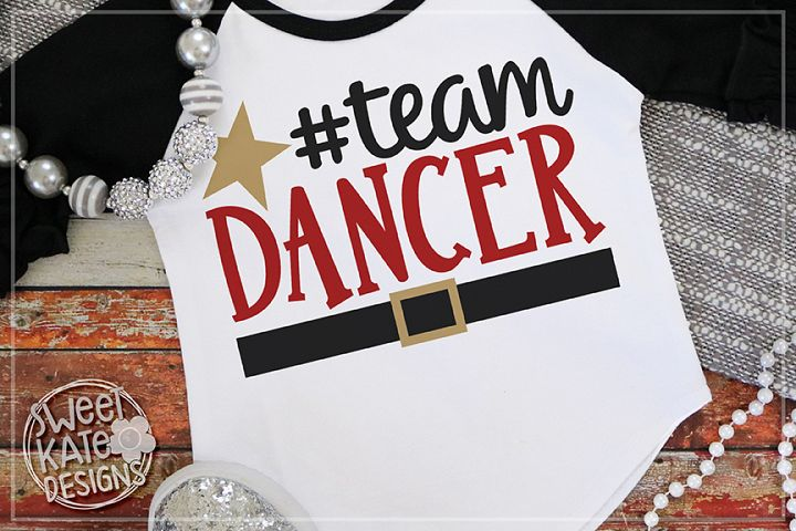 Team Dancer SVG DXF EPS PNG JPG