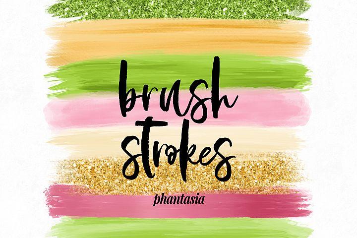 Tropical Brush Strokes