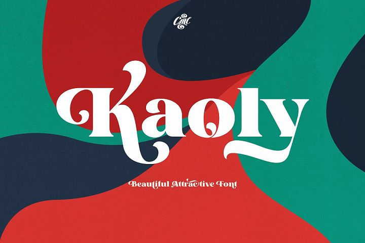 Kaoly - Beautiful Attractive Font
