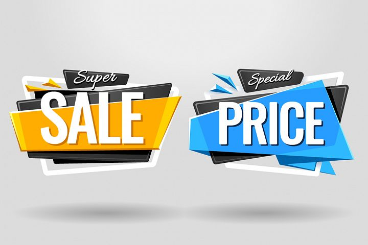 SALE BANNERS | Material Design - Free Design of The Week Design 2