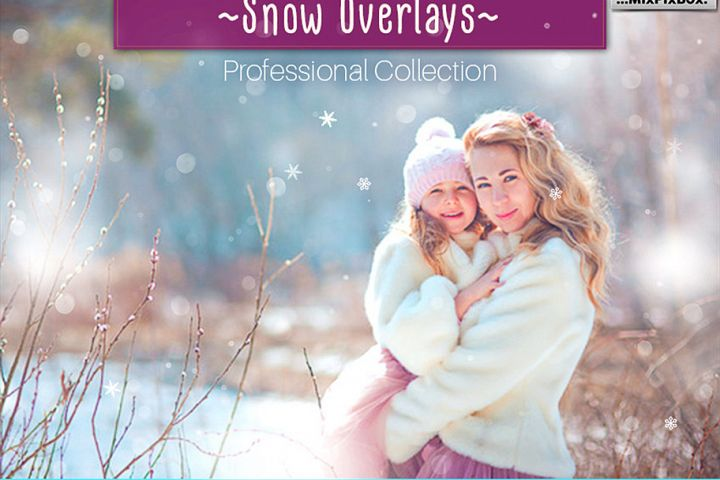 Natural Snow Overlays