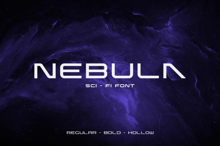 Nebula Sci-Fi Font
