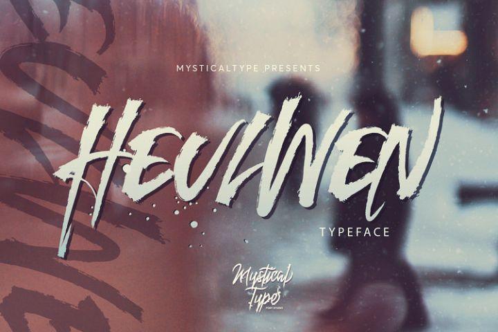 Heulwen Typeface