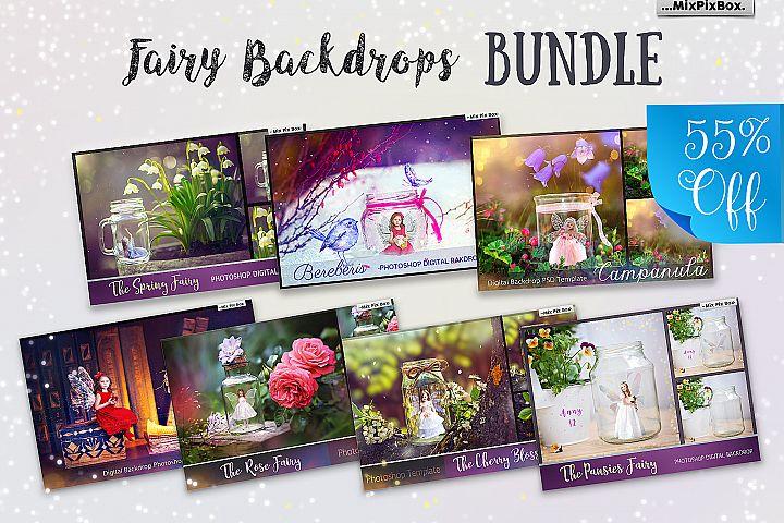Fairy Backdrops Bundle