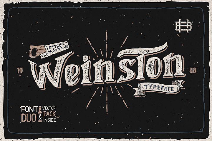 Weinston Typeface & Extras