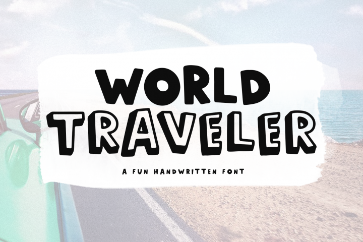 World Traveler - A Quirky Handwritten Font