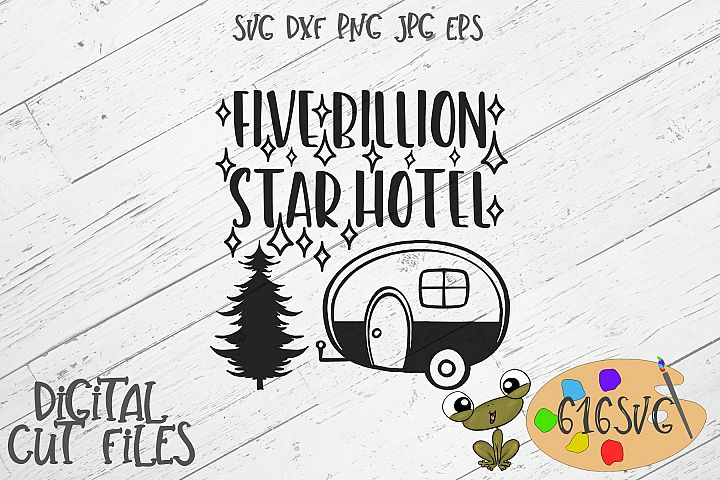 5 Billion Star Hotel SVG