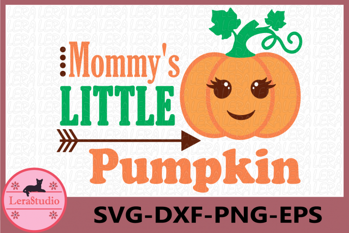 Mommys Little Pumpkin Svg, Little Pumpkin Svg, Baby svg