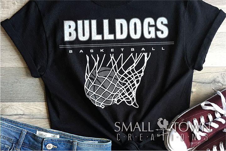 Bulldog basketball, bulldog mascot, team, PRINT, CUT, DESIGN