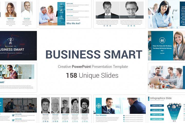 Business Smart PowerPoint Template