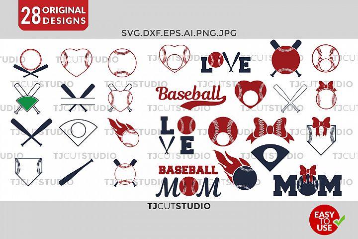 Baseball svg Baseball Monogram Frames Svg Softball SVG Baseball Frames Svg, Files for Silhouette Cameo or Cricut, Commercial & Personal Use.