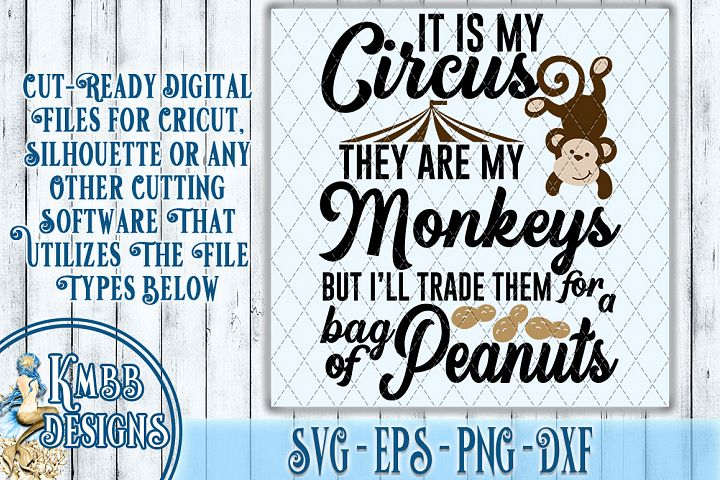 Circus SVG - SVG EPS PNG DXF Cricut Silhouette
