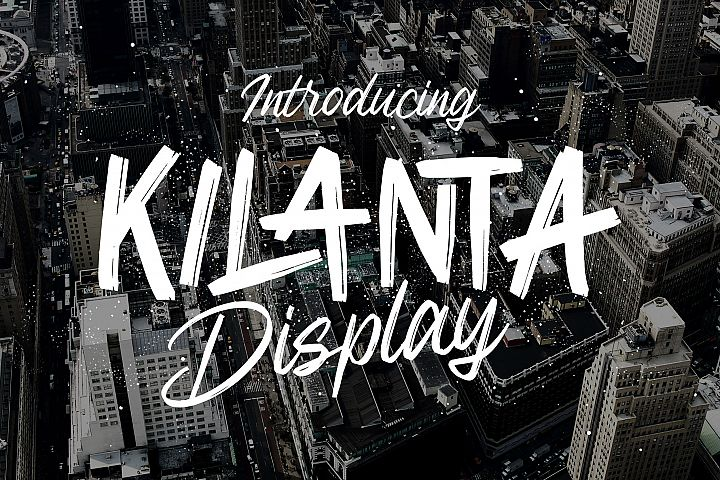 Kilanta Display - Font Duo
