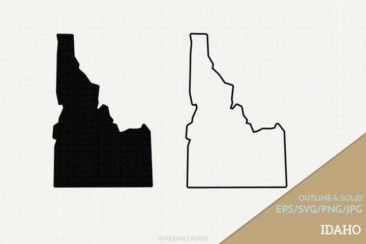 Idaho Vector / Clip Art
