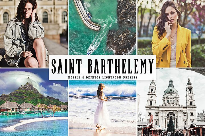 Saint Barthelemy Mobile & Desktop Lightroom Preset