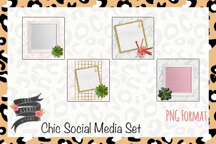 Chic Social Media Set